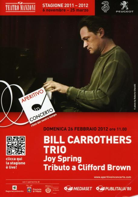 bill carrothers -manzoni